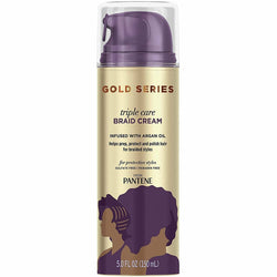 Pantene Styling Product GOLD SERIES PANTENE: Triple Care Braid Cream 5oz