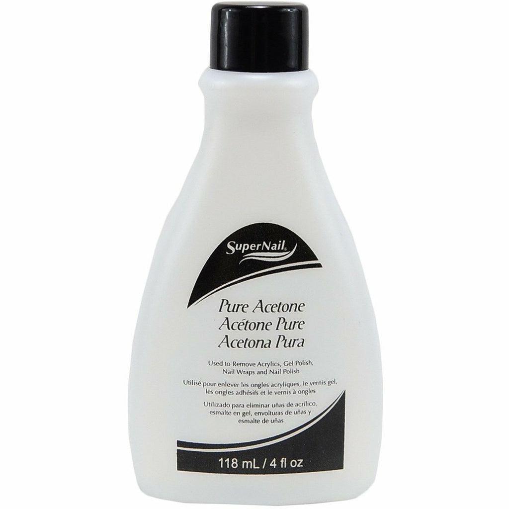 Q-Tips SUPER NAIL: Pure Acetone Polish Remover 4oz