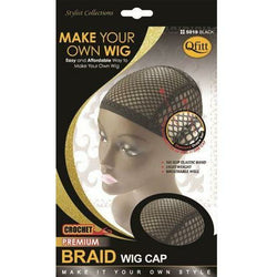 Qfitt Hair Accessories QFITT: CROCHET PREMIUM BRAID WIG CAP #5019