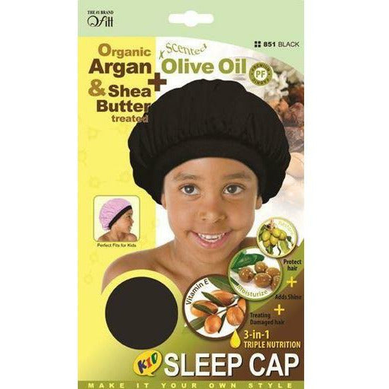 Qfitt Hair Accessories QFITT: Kid 3-in-1 Sleep Cap #851