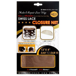 Qfitt Hair Accessories Qfitt: Swiss Lace Closure Net