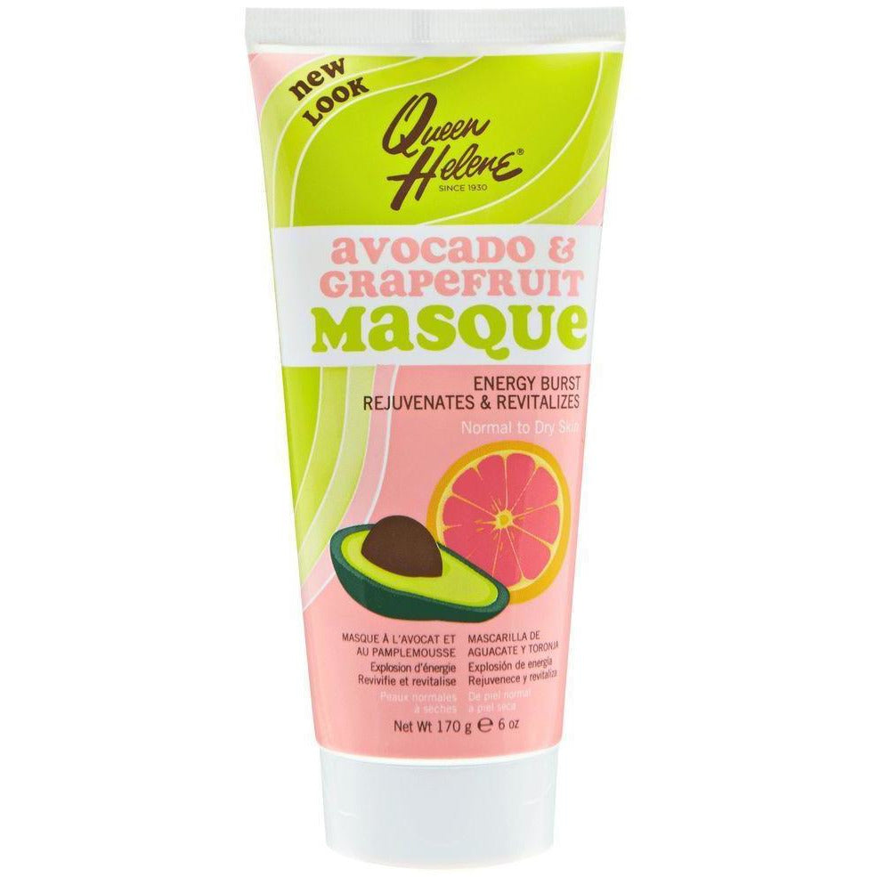 Queen Helene Natural Skin Care Queen Helene: Avocado and Grapefruit Facial Masque 6oz