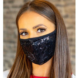 R&B MASKS Spangle Fashion Face mask washable and reusable