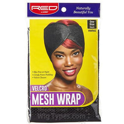 RED BY KISS Salon Tools Red by Kiss: Velcro Mesh Wrap #HWR02