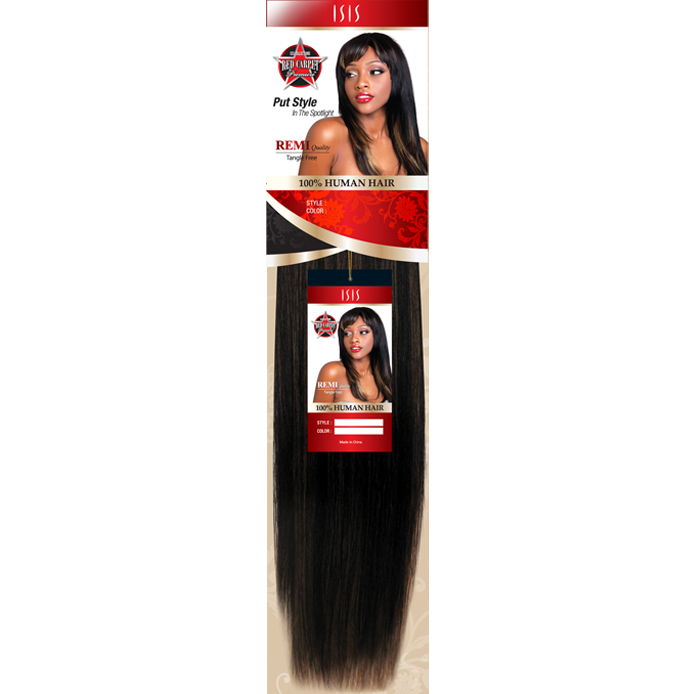 "Red Carpet Weaving Hair #1 / 8"" Red Carpet<br> 100% Human Hair"
