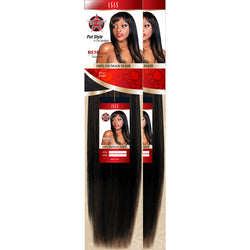 "Red Carpet Weaving Hair #1 - Jet Black / 10""+10"" Combo Sale: Red Carpet <br> 100% Human Hair"