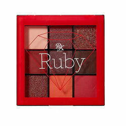 Ruby Kisses Cosmetics Ruby Kisses: 9 Color Eyeshadow Set