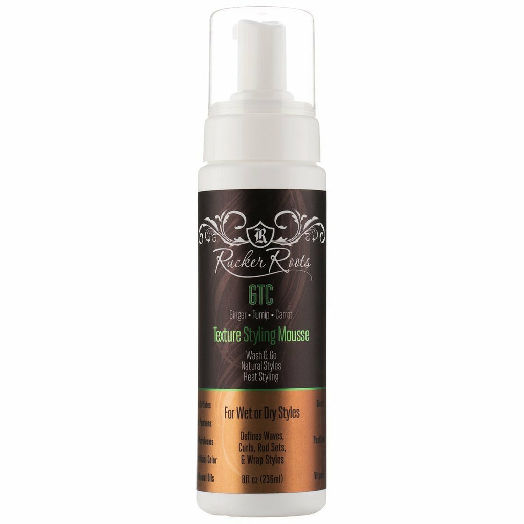 Rucker Roots Styling Product RUCKER ROOTS: Texture Styling Mousse 8oz
