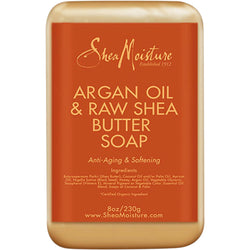 Shea Moisture Bath & Body Shea Moisture: Argan Oil & Raw Shea Butter Soap 8oz