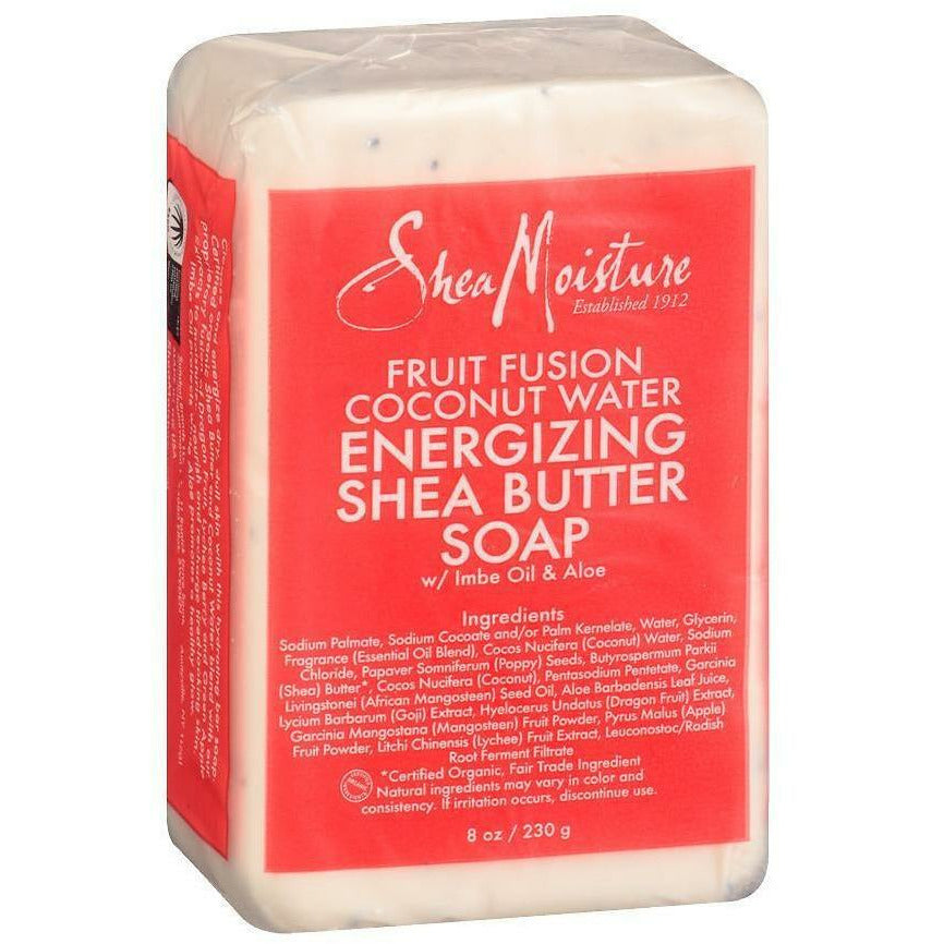 Shea Moisture Bath & Body Shea Moisture: Fruit Fusion Coconut Water Energizing Shea Butter Bar Soap 8oz