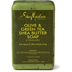 Shea Moisture Bath & Body Shea Moisture: Olive & Green Tea Shea Butter Soap 8oz