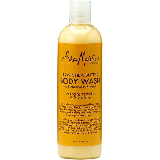 Shea Moisture Bath & Body Shea Moisture: Raw Shea Butter Body Wash 13oz