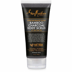 Shea Moisture Bath & Body SheaMoisture: African Black Soap Bamboo Charcoal Body Scrub 6oz
