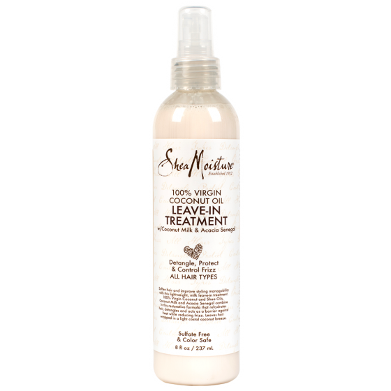 Shea Moisture Hair Care Shea Moisture: 100% VIRGIN COCONUT OIL LEAVE-IN TREATMENT 8oz