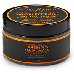 Shea Moisture Hair Care Shea Moisture: AFRICAN BLACK SOAP PROBLEM SKIN FACIAL MASK 4oz