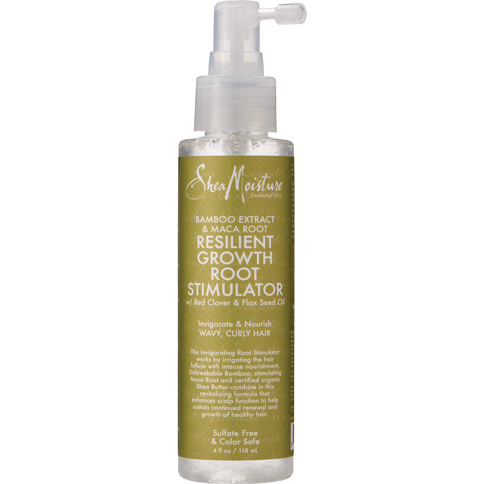 Shea Moisture Hair Care Shea Moisture BAMBOO EXTRACT & MACA ROOT RESILIENT GROWTH ROOT STIMULATOR 4oz