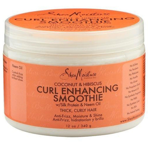 Shea Moisture Hair Care Shea Moisture: COCONUT & HIBISCUS CURL ENHANCING SMOOTHIE 12oz