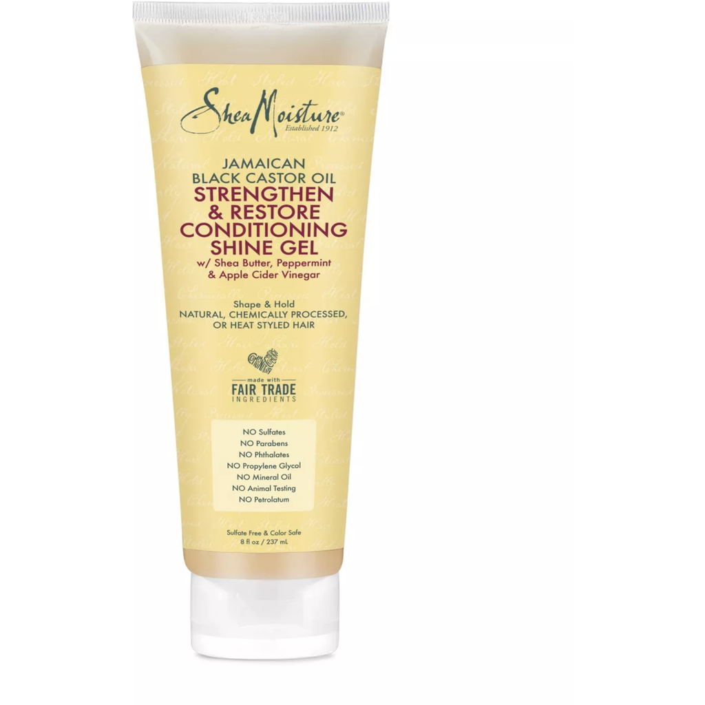 Shea Moisture Hair Care Shea Moisture: Jamaican Black Castor Oil Strengthen & Restore Conditioning Shine Gel 8oz