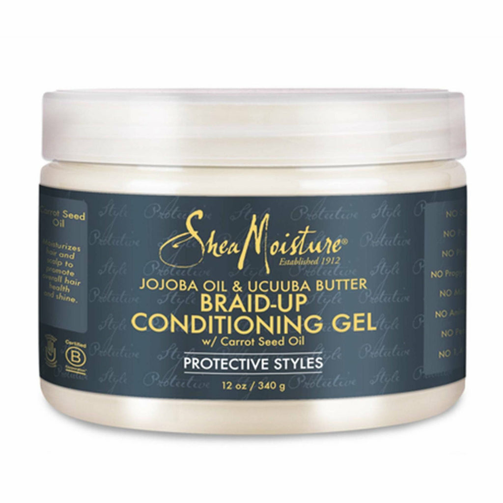 Shea Moisture Hair Care Shea Moisture Jojoba Oil & Ucuuba Butter Braid Conditioning & Control Gel 12oz