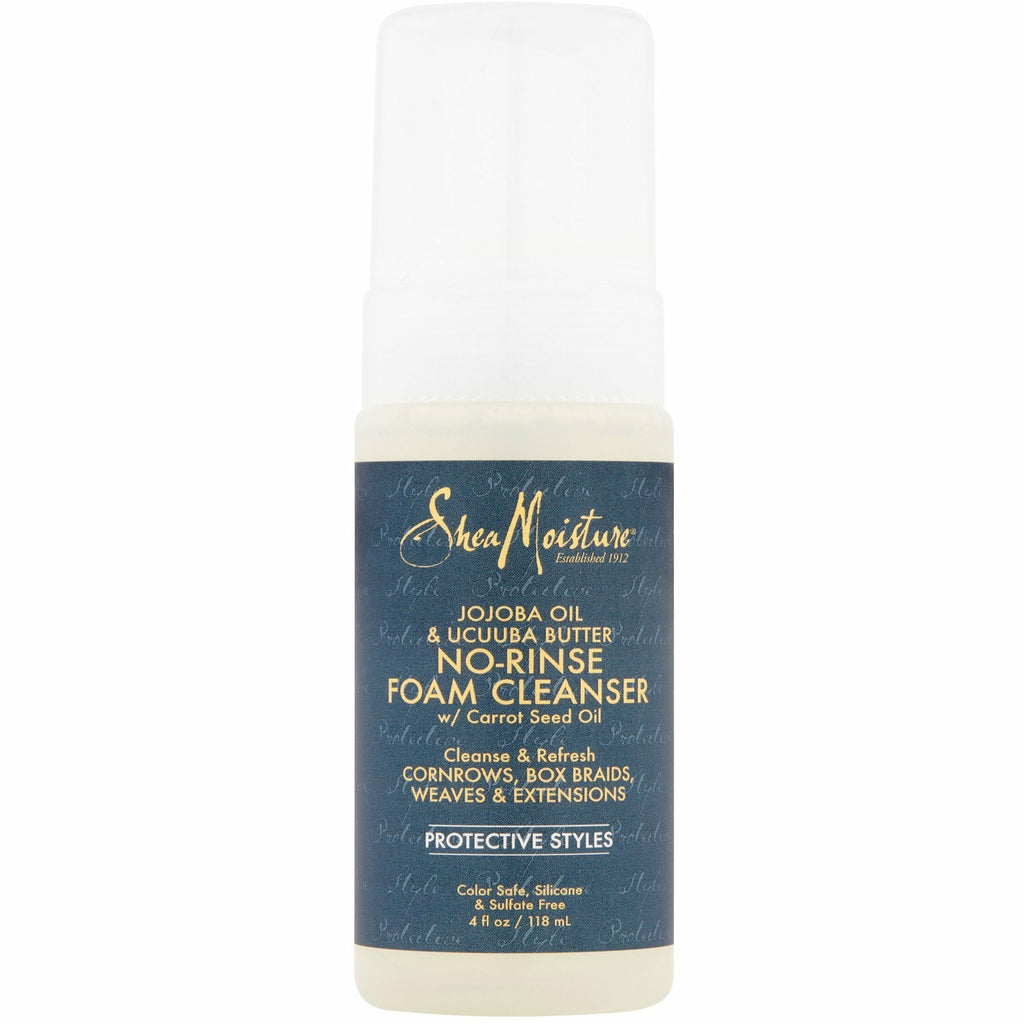 Shea Moisture Hair Care Shea Moisture Jojoba Oil & Ucuuba Butter No-Rinse Cleanser 4oz
