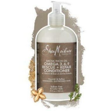 Shea Moisture Hair Care Shea Moisture: SACHA INCHI OIL OMEGA 3,6,9 RESCUE + REPAIR CONDITIONER 13oz