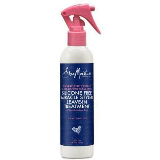 Shea Moisture Hair Care Shea Moisture: SUGARCANE EXTRACT SILICONE FREE MIRACLE LEAVE-IN TREATMENT 8oz