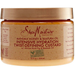 Shea Moisture Hair Care SheaMoisture: Manuka Honey & Mafura Oil Intensive Hydration Twist-Defining Custard 12oz