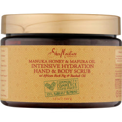 Shea Moisture Natural Skin Care Shea Moisture: Manuka Honey & Mafura Oil Intensive Hydration Hand & Body Scrub 12oz