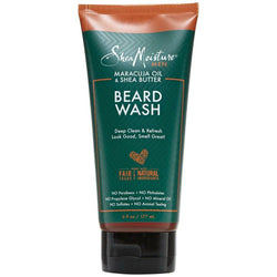 Shea Moisture Natural Skin Care SHEA MOISTURE: Maracujua & Shea Oils Beard Wash 6oz