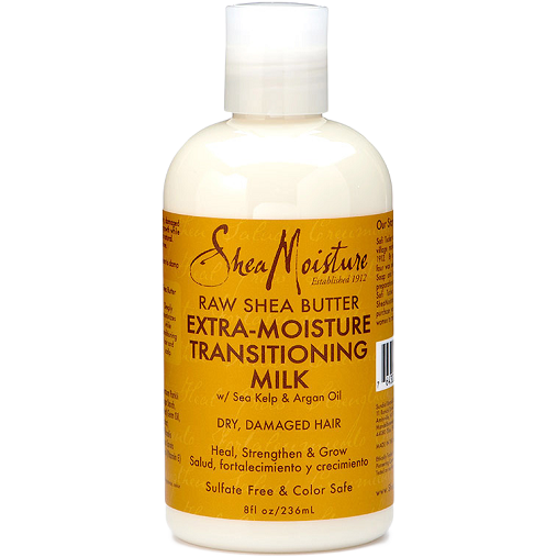 Shea Moisture Styling Product Shea Moisture: Raw Shea Butter Extra-Moisture Transitioning Milk 8oz