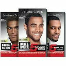 SoftSheen- Carson Hair Color Dark Brown SOFTSHEEN- CARSON: Dark & Natural 5-minute Hair Dye for Men
