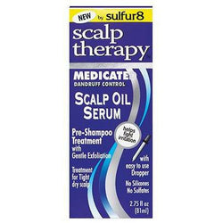 Sulfur8 Scalp Care Sulfur8: Medicated Scalp Oil Serum 2.75oz