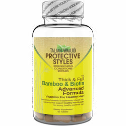Taliah Waajid Hair Care Taliah Waajid: Protective Styles Bamboo & Biotin Advanced Formula Vitamins 60 Tablets