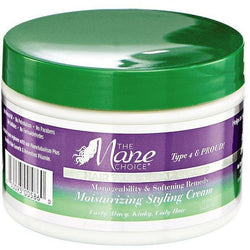 The Mane Choice Hair Care The Mane Choice: Manageability & Softening Remedy Moisturizing Styling Cream 12oz