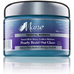 The Mane Choice Hair Care The Mane Choice: Tropical Moringa Sweet Oil & Honey Endless Moisture Pearly Braid Out Glaze 8oz