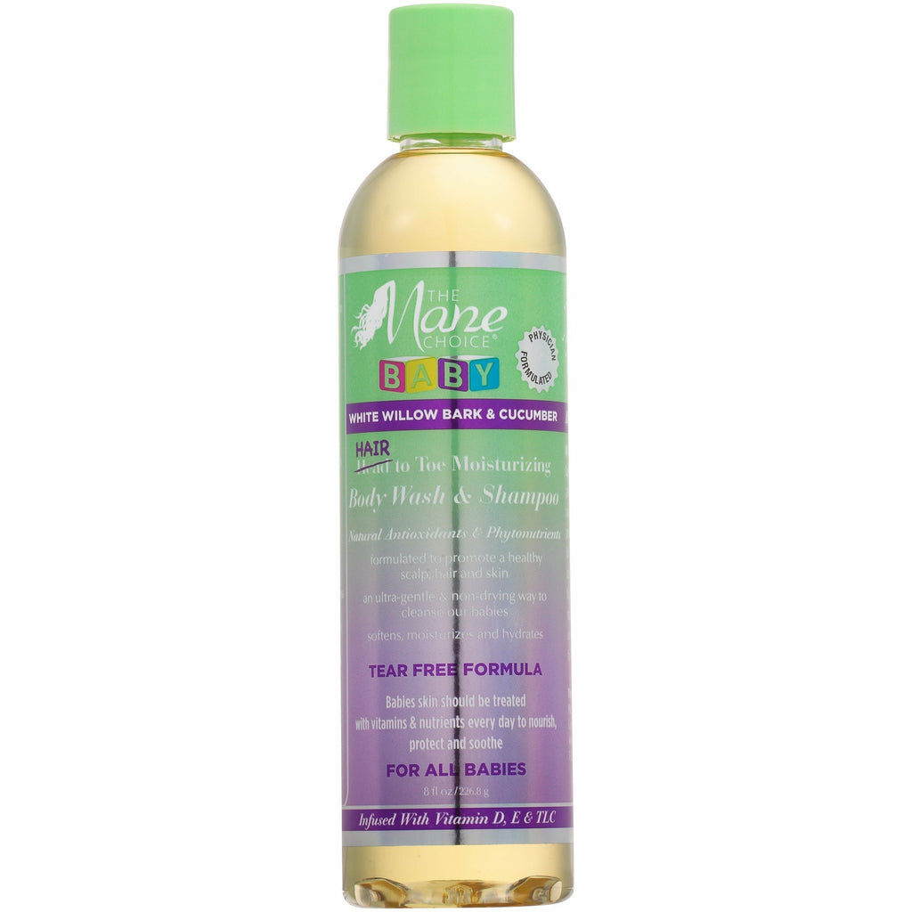 The Mane Choice Hair Care The Mane Choice White Willow Bark & Cucumber Baby Hair to Toe Wash & Shampoo 8oz
