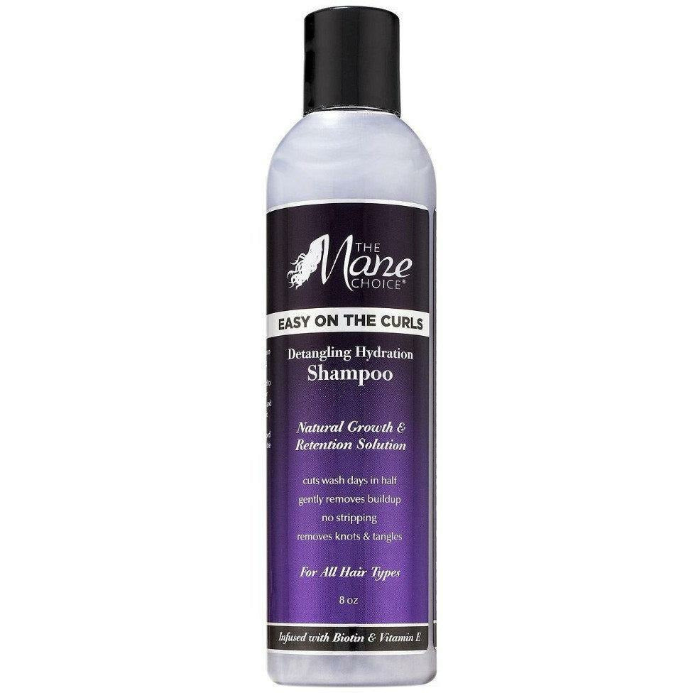 The Mane Choice Styling Product THE MANE CHOICE: Easy On The CURLS Detangling Hydration Shampoo 8oz