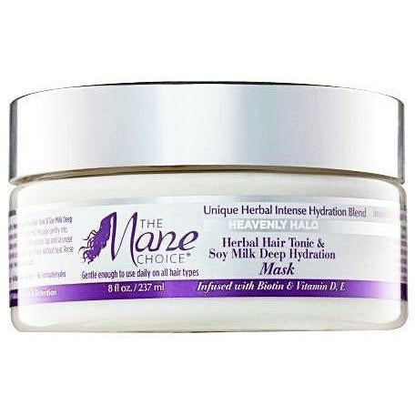 The Mane Choice Styling Product THE MANE CHOICE: Heavenly Halo Herbal Hair Tonic & Soy Milk Deep Hydration Mask 8oz