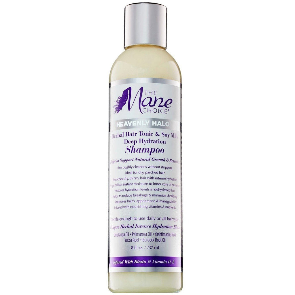 The Mane Choice Styling Product The Mane Choice Heavenly Halo Herbal Hair Tonic & Soy Milk Deep Hydration Shampoo 8oz