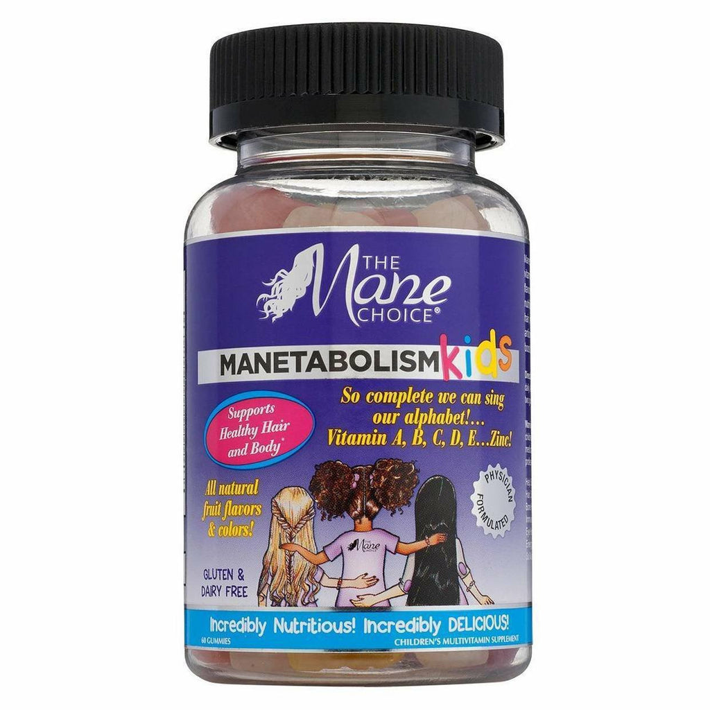 The Mane Choice Styling Product THE MANE CHOICE: MANETABOLISM KIDS (GUMMY VITAMINS) 60 GUMMIES