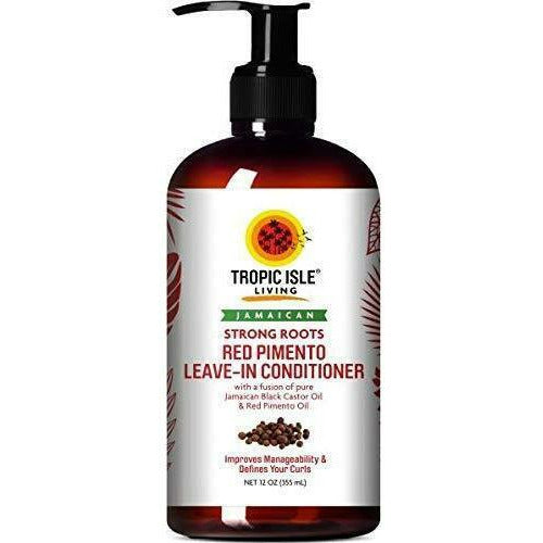 Tropic Isle Hair Care TROPIC ISLE: Strong Roots Red Pimento Leave-In Conditioner 12oz