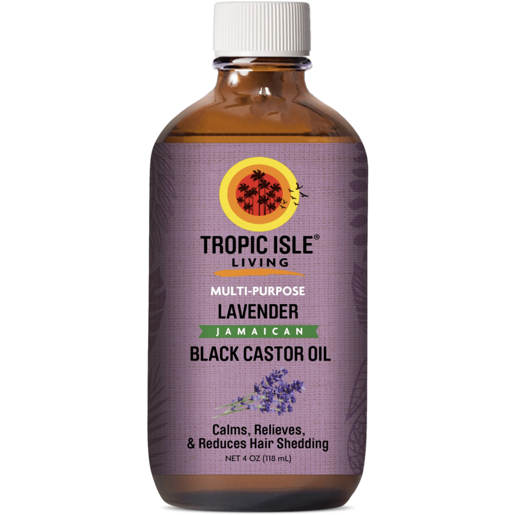 Tropic Isle Styling Product TROPIC ISLE: Multi-Purpose Lavender Jamaican Black Castor Oil 4oz