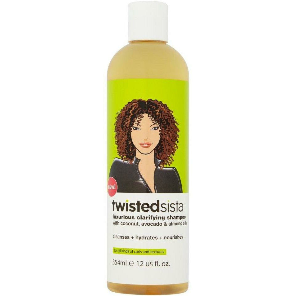 Twisted Sista Hair Care TWISTED SISTA: Luxurious Clarifying Shampoo 12oz