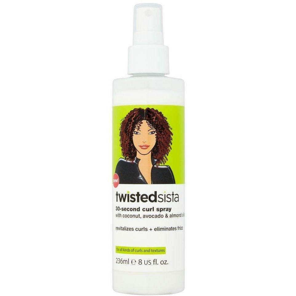 Twisted Sista Styling Product TWISTED SISTA: 30-Second Curl Spray 8oz