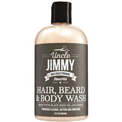 Uncle Jimmy Bath & Body Uncle Jimmy Hair, Beard & Body Wash 12oz