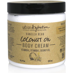 Urban Hydration Bath & Body Urban Hydration: Vanilla Bean Coconut Oil Whipped Body Cream 15.2oz