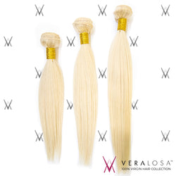 Vera losa™ Virgin Human Hair 10+12+14 / #613 Vera Losa™ 8A Pre-Bleached - Straight #613 - 3 Bundle Deals
