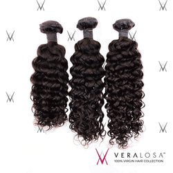 Vera Losa™ Virgin Human Hair 12+14+16 / Natural Color Vera Losa™ 8A Losa Curl - 3 Bundle Deals