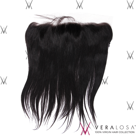 "Vera Losa™ Virgin Human Hair 14"" / Natural Color Vera Losa™ 13x4 Lace Frontal - Straight"