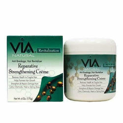 VIA Natural Hair Care Via Natural: Reparative Strengthening Creme 6oz